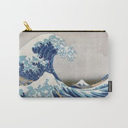 Under the Wave off Kanagawa - The Great Wave - Katsushika Hokusai Carry-All Pouch