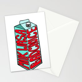 Milk Was a Bad Choice Stationery Cards
