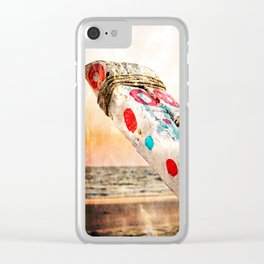 FISHING BOAT HULL 01 - GOA (everyday 12.01.2017) Clear iPhone Case