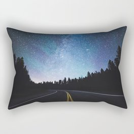 Arctic Backroads Rectangular Pillow