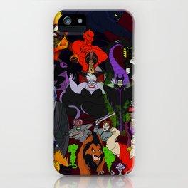 Villains Gallery iPhone Case