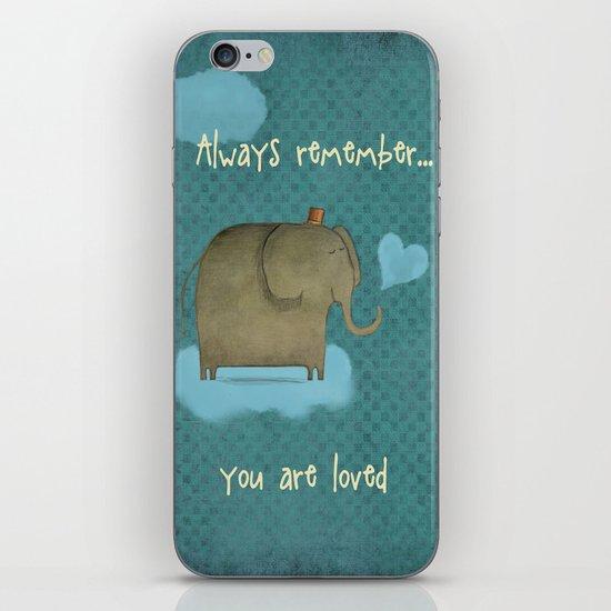 Always Remember iPhone & iPod Skin