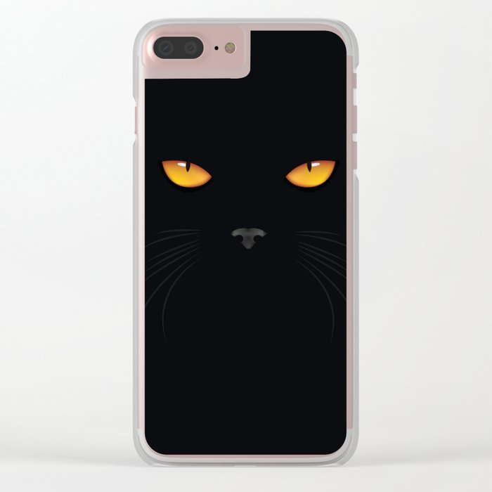 I'M WATCHING YOU Clear iPhone Case
