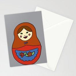 1 Matroyshka Doll Stationery Cards