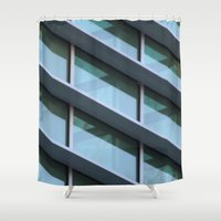 architecture Shower Curtains featuring Architecture by Alex Dodds
