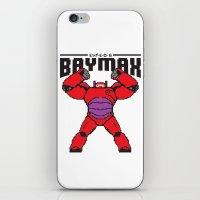 8bit iPhone & iPod Skins featuring BAYMAX (8BIT) by Akiwa