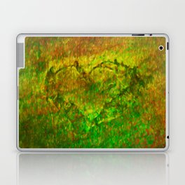 The Heart - Painting by Brian Vegas Laptop & iPad Skin