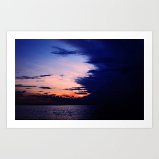Amazon river Art Print