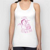 girl power Tank Tops featuring Girl Power by Elise Furlan