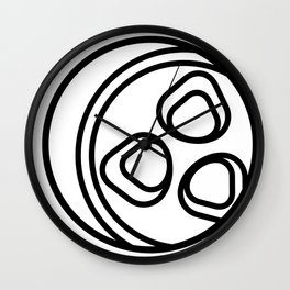 Summertime is like pickles Wall Clock