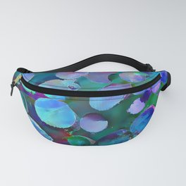 Colored Wood Pile 3 Fanny Pack