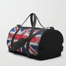 England flag Grunge Duffle Bag
