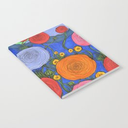 Colors in the Blue Ridge Mountains Notebook