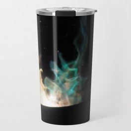 Blue Flames /// Travel Mug