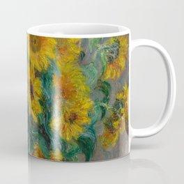 Claude Monet - Bouquet of Sunflowers (1881) Coffee Mug