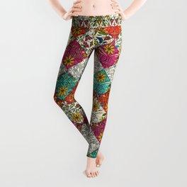 aziza patchwork Leggings
