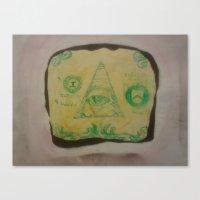 bread Canvas Prints featuring Bread by Brandon R. Jackson