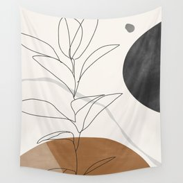 Abstract Art /Minimal Plant Wall Tapestry