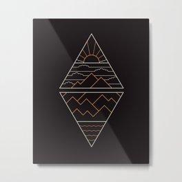 Earth Air Fire & Water Metal Print
