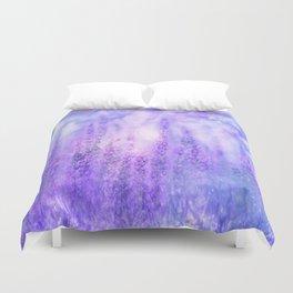 Lavender fields Duvet Cover