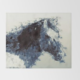 Horse Throw Blanket