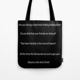 Employment Tote Bag