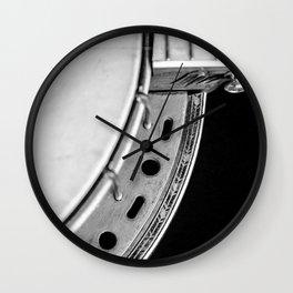 Concertone Banjo Detail  Wall Clock