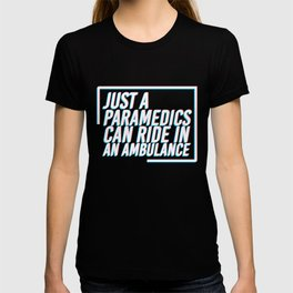 paramedic EMS medical paramedical emergency T-shirt