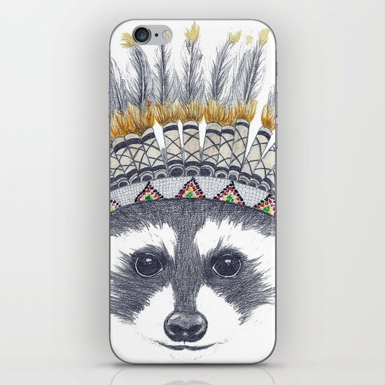 Festivale Raccoon iPhone & iPod Skin