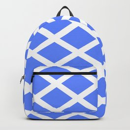 abstraction from the flag of scotland. Backpack