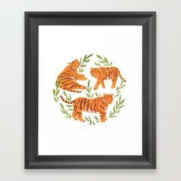 Tigers Framed Art Print