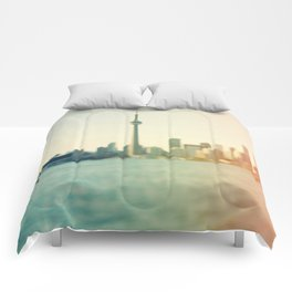 Shades Of The City Comforters