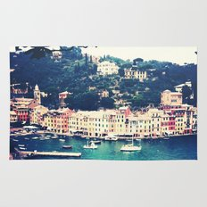 A vintage day in Portofino Rug