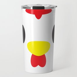 Rooster Block Travel Mug