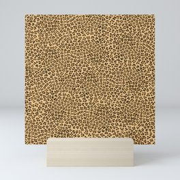 Leopard Spots Pattern Mini Art Print