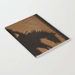 Leather Rodeo Cowboy Notebook