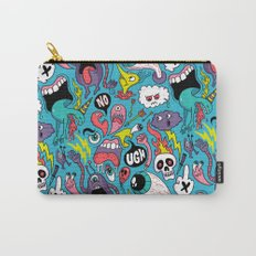 Doodled Pattern Carry-All Pouch
