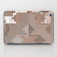 reassurance iPad Cases featuring Wood print I by Magdalena Hristova