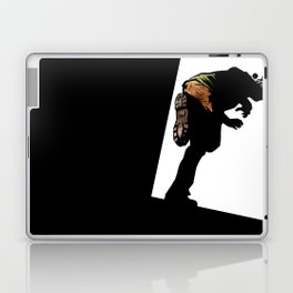 RUN ZOMBIE RUN! Laptop & iPad Skin