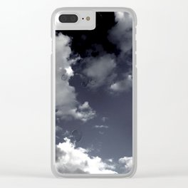 Black and White Photography Clear iPhone Case