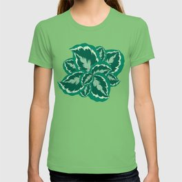 Tropical leaves of calathea T-shirt