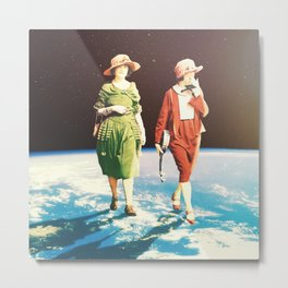 'Round the world in day Metal Print