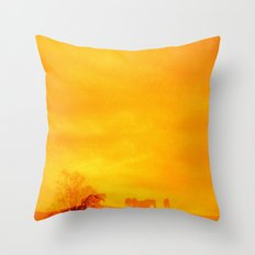 In those first few hours after the dawn Throw Pillow