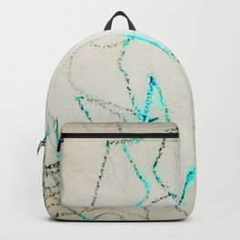 Modern Contemporary Abstract - My Friend Backpack