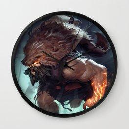 Classic Udyr League Of Legends Wall Clock