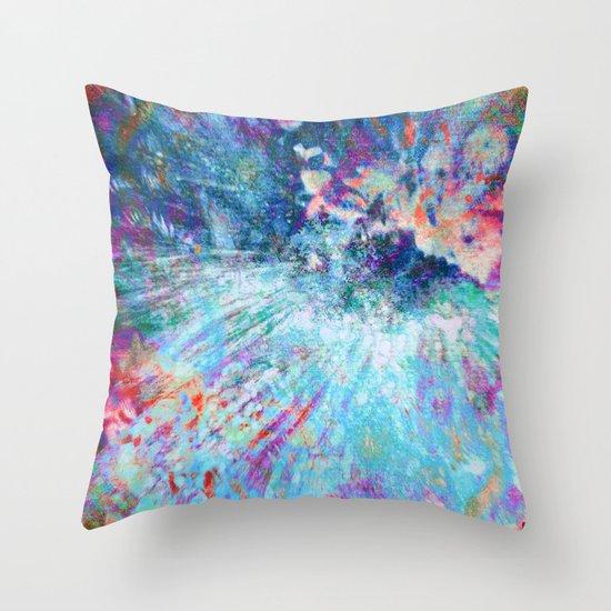 Dragon Erupt Throw Pillow