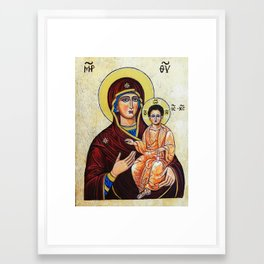 Mary, Mother of Jesus Framed Art Print