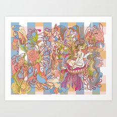 Feast of Saint Lucy Art Print