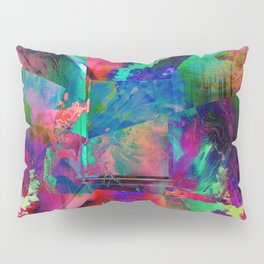 Psychedelic Pillow Sham