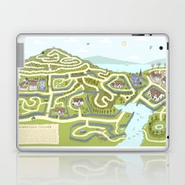 Limestone Village Maze Laptop & iPad Skin